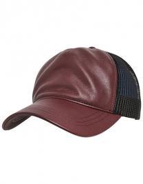 Leather Trucker Cap